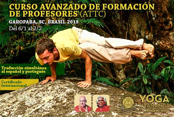Yoga Sivananda - ATTC Garopaba 2019 - Curso para formación de profesores